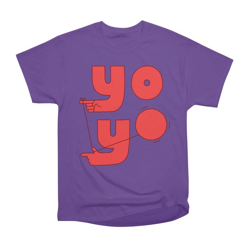 Yo Men's Heavyweight T-Shirt by Haasbroek's Artist Shop