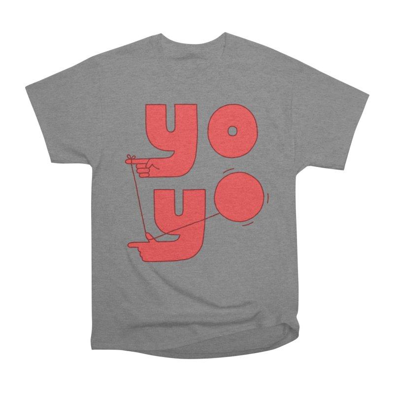 Yo Women's Heavyweight Unisex T-Shirt by Haasbroek's Artist Shop
