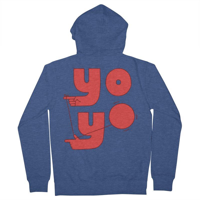 Yo Men's Zip-Up Hoody by Haasbroek's Artist Shop