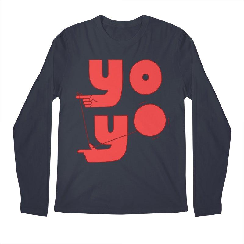 Yo Men's Longsleeve T-Shirt by jacohaasbroek's Artist Shop