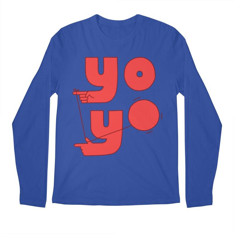 Yo Men's Regular Longsleeve T-Shirt by Haasbroek's Artist Shop