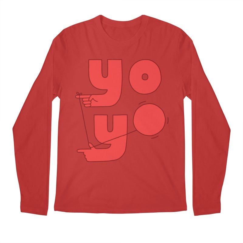 Yo Men's Regular Longsleeve T-Shirt by jacohaasbroek's Artist Shop