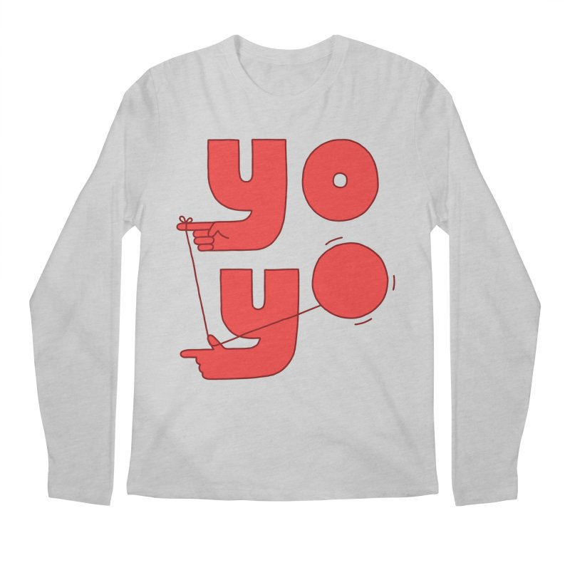 Yo Men's Regular Longsleeve T-Shirt by Haasbroek's Artist Shop