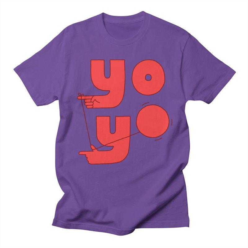 Yo Men's T-Shirt by jacohaasbroek's Artist Shop