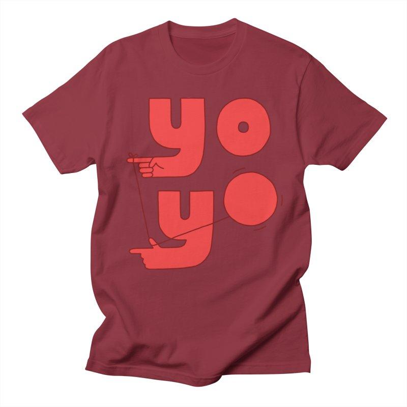 Yo Men's Regular T-Shirt by jacohaasbroek's Artist Shop