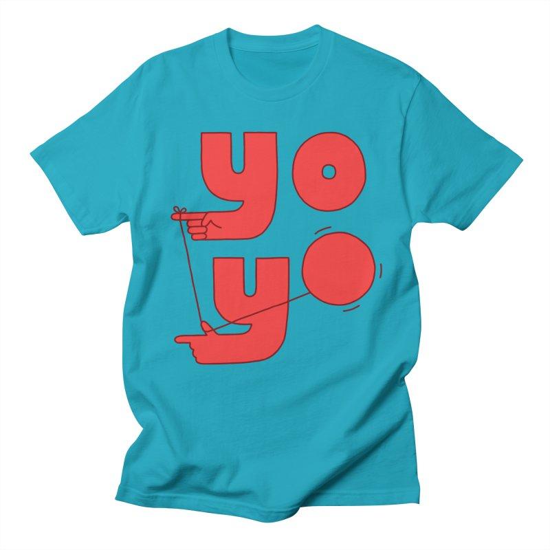 Yo Men's Regular T-Shirt by Haasbroek's Artist Shop