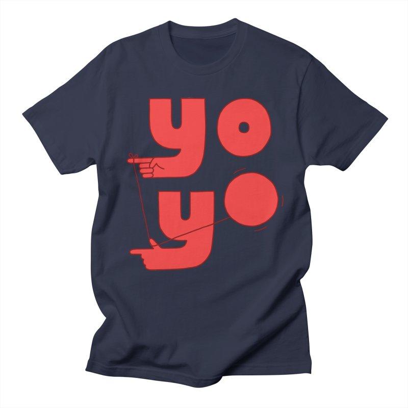 Yo Women's Regular Unisex T-Shirt by jacohaasbroek's Artist Shop