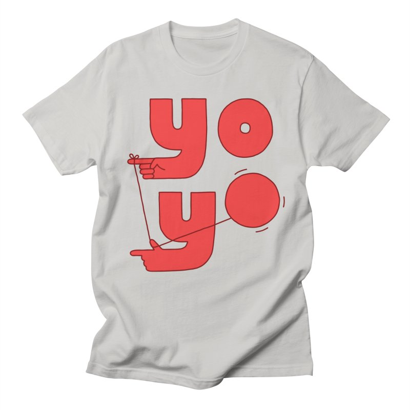 Yo Women's Regular Unisex T-Shirt by jacohaasbroek's Artist Shop