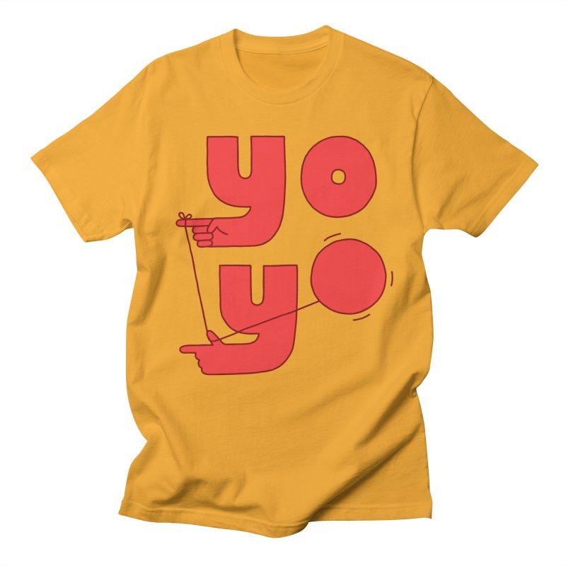 Yo Women's Regular Unisex T-Shirt by Haasbroek's Artist Shop