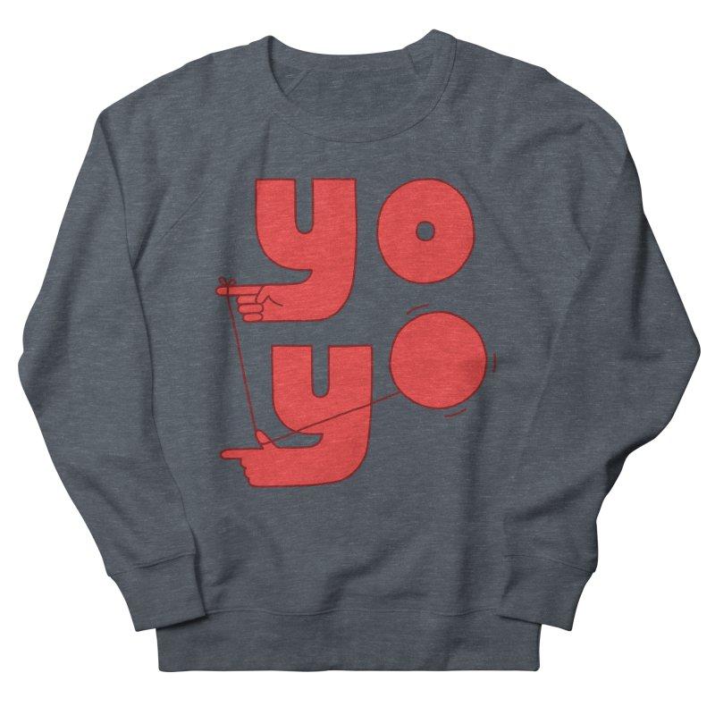 Yo Women's French Terry Sweatshirt by jacohaasbroek's Artist Shop