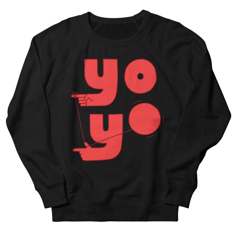 Yo Women's French Terry Sweatshirt by Haasbroek's Artist Shop