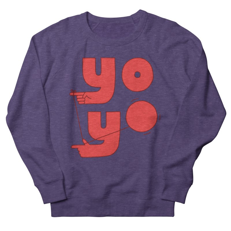 Yo Men's French Terry Sweatshirt by Haasbroek's Artist Shop
