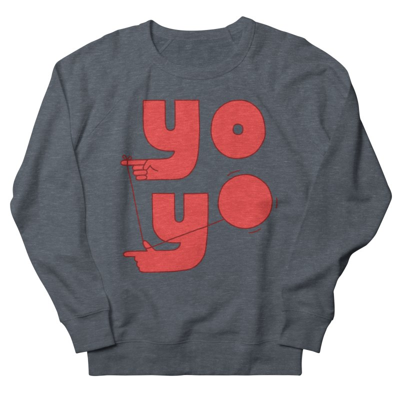Yo Men's French Terry Sweatshirt by jacohaasbroek's Artist Shop