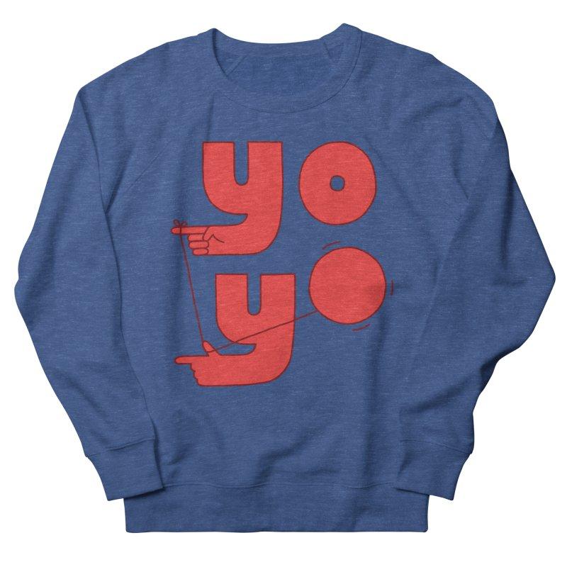 Yo Men's Sweatshirt by Haasbroek's Artist Shop