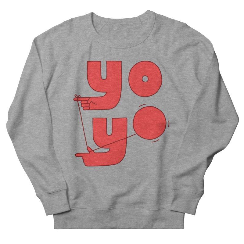 Yo Men's French Terry Sweatshirt by Haasbroek's Artist Shop