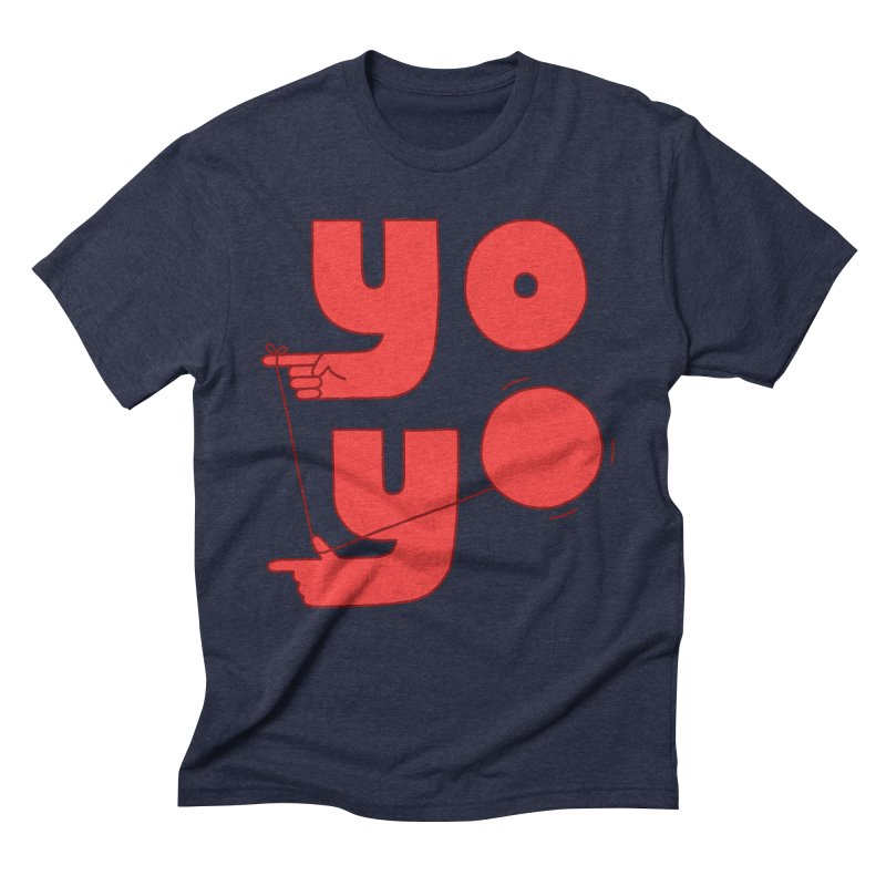Yo Men's Triblend T-Shirt by Haasbroek's Artist Shop