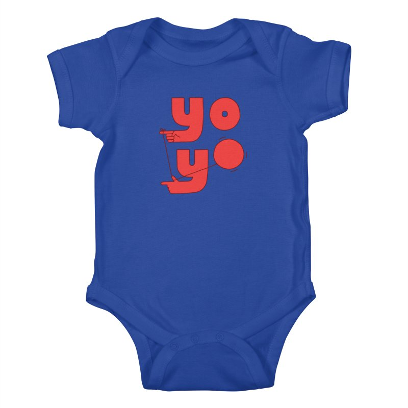 Yo Kids Baby Bodysuit by Haasbroek's Artist Shop