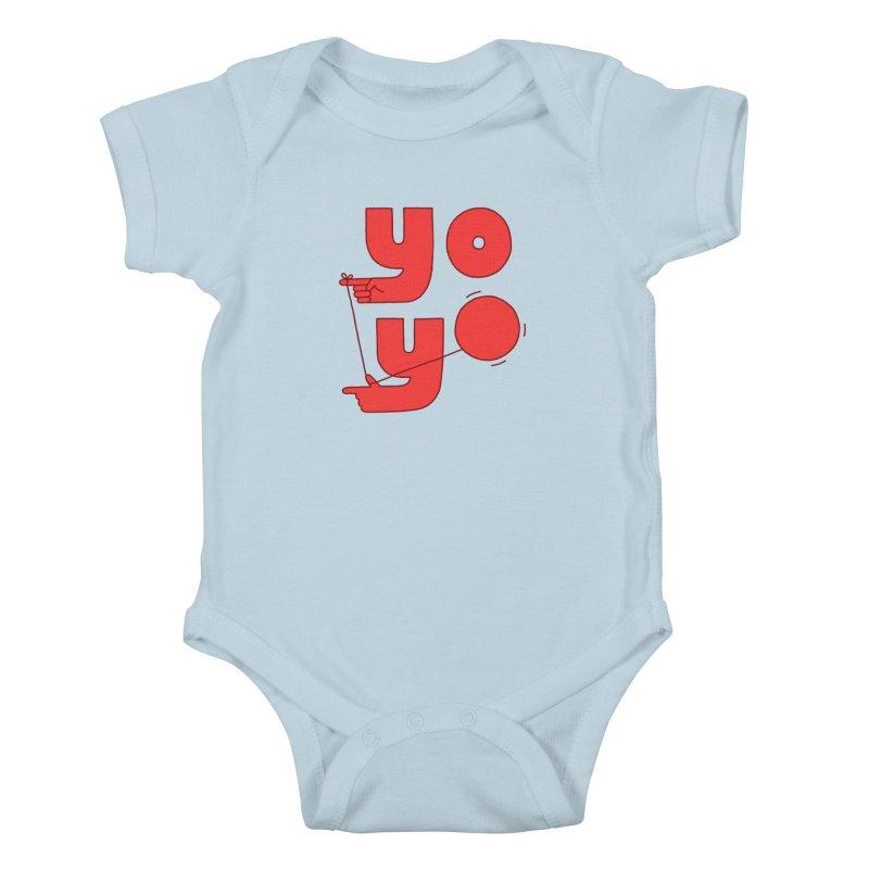 Yo Kids Baby Bodysuit by Haasbroek's Artist Shop