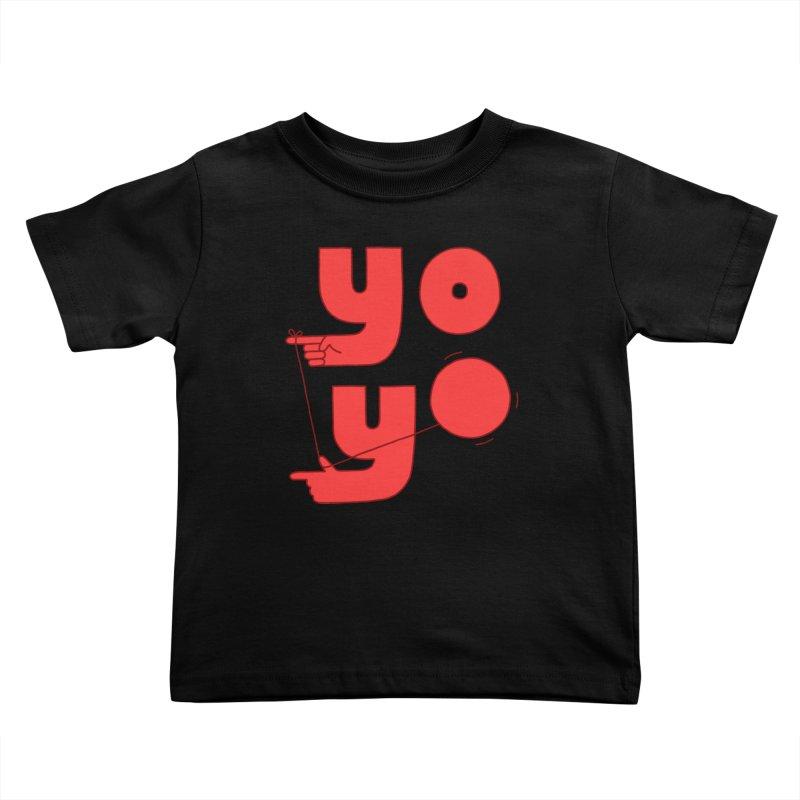 Yo Kids Toddler T-Shirt by Haasbroek's Artist Shop