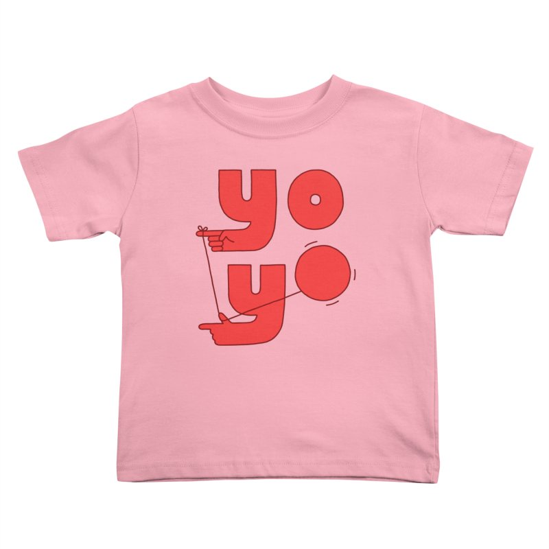 Yo Kids Toddler T-Shirt by jacohaasbroek's Artist Shop