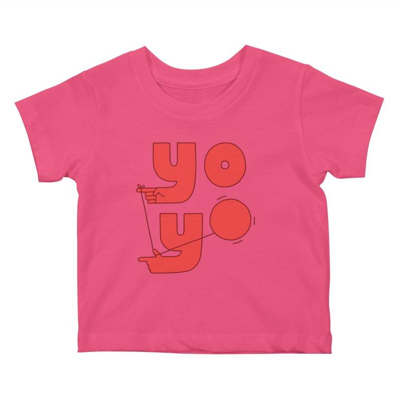Yo Kids Baby T-Shirt by jacohaasbroek's Artist Shop