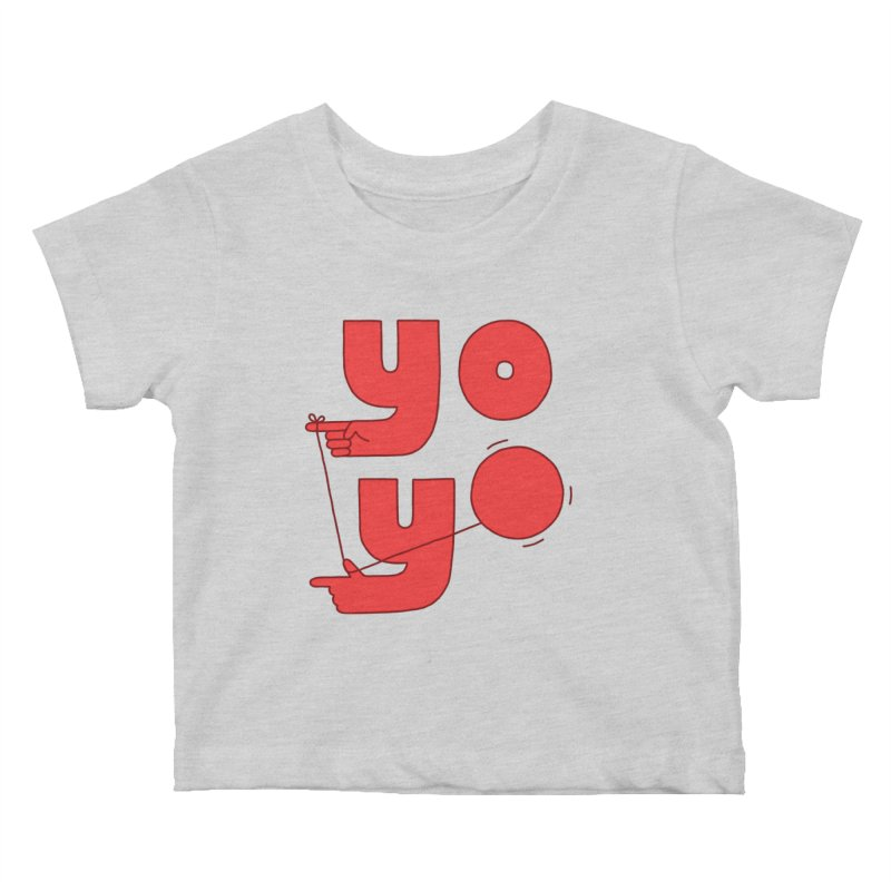 Yo Kids Baby T-Shirt by jacohaasbroek's Artist Shop