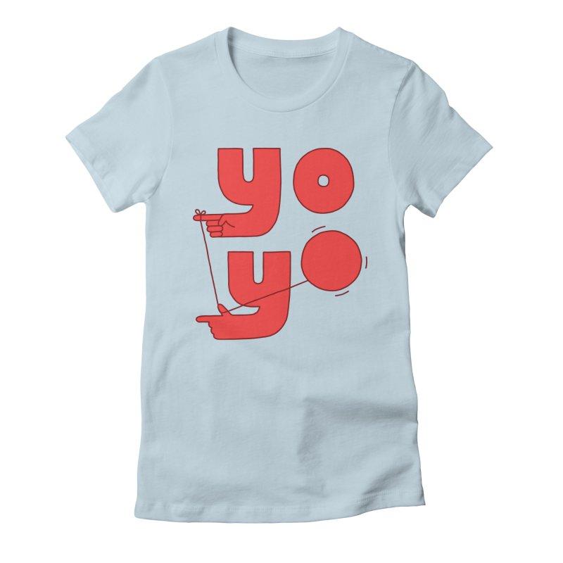 Yo Women's T-Shirt by Haasbroek's Artist Shop