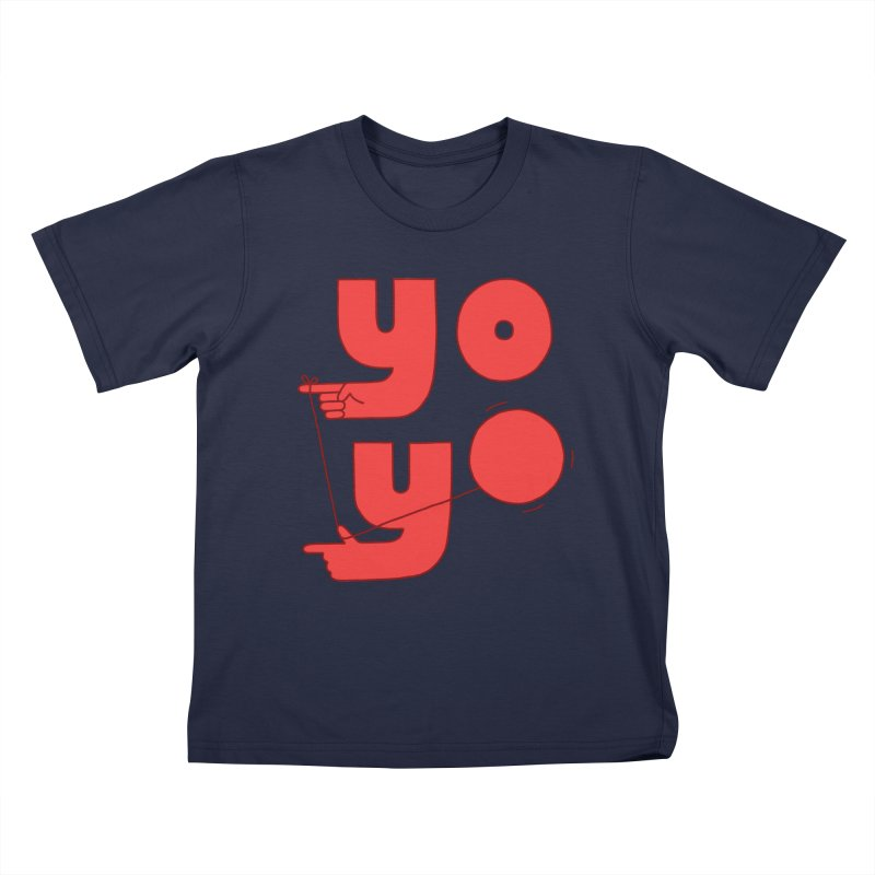 Yo Kids T-Shirt by jacohaasbroek's Artist Shop