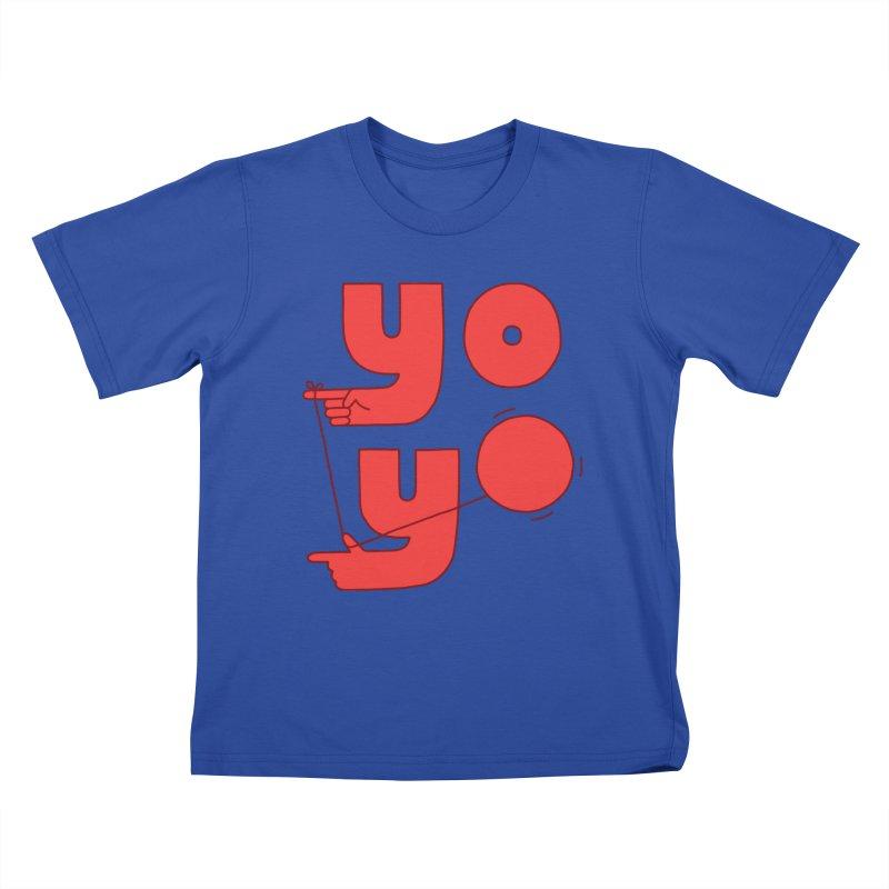 Yo Kids T-Shirt by Haasbroek's Artist Shop
