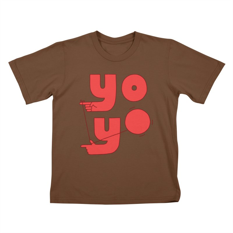 Yo Kids T-Shirt by Haasbroek's Artist Shop