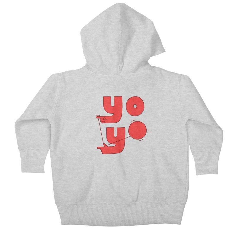 Yo Kids Baby Zip-Up Hoody by Haasbroek's Artist Shop