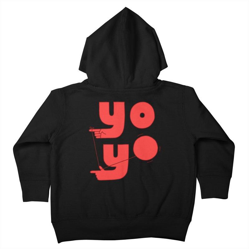 Yo Kids Toddler Zip-Up Hoody by Haasbroek's Artist Shop