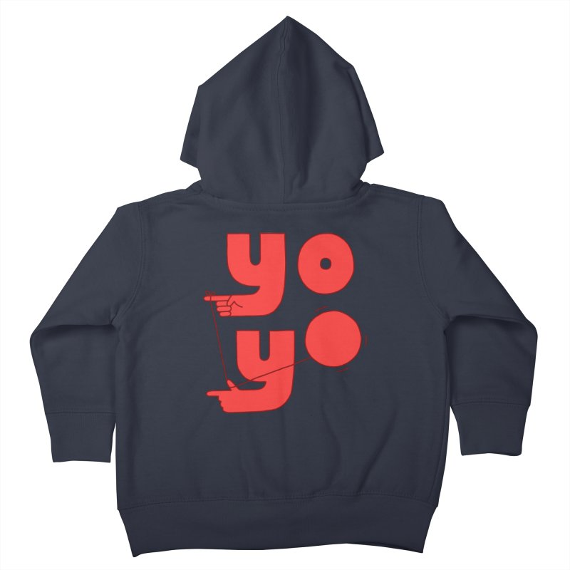 Yo Kids Toddler Zip-Up Hoody by Haasbroek's Artist Shop