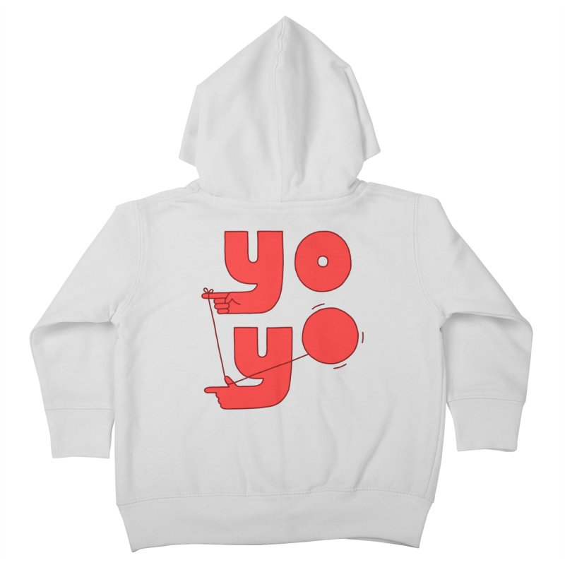 Yo Kids Toddler Zip-Up Hoody by jacohaasbroek's Artist Shop