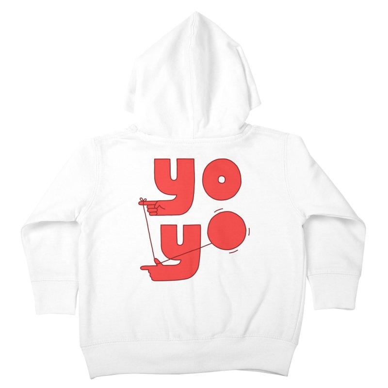 Yo Kids Toddler Zip-Up Hoody by jacohaasbroek's Artist Shop