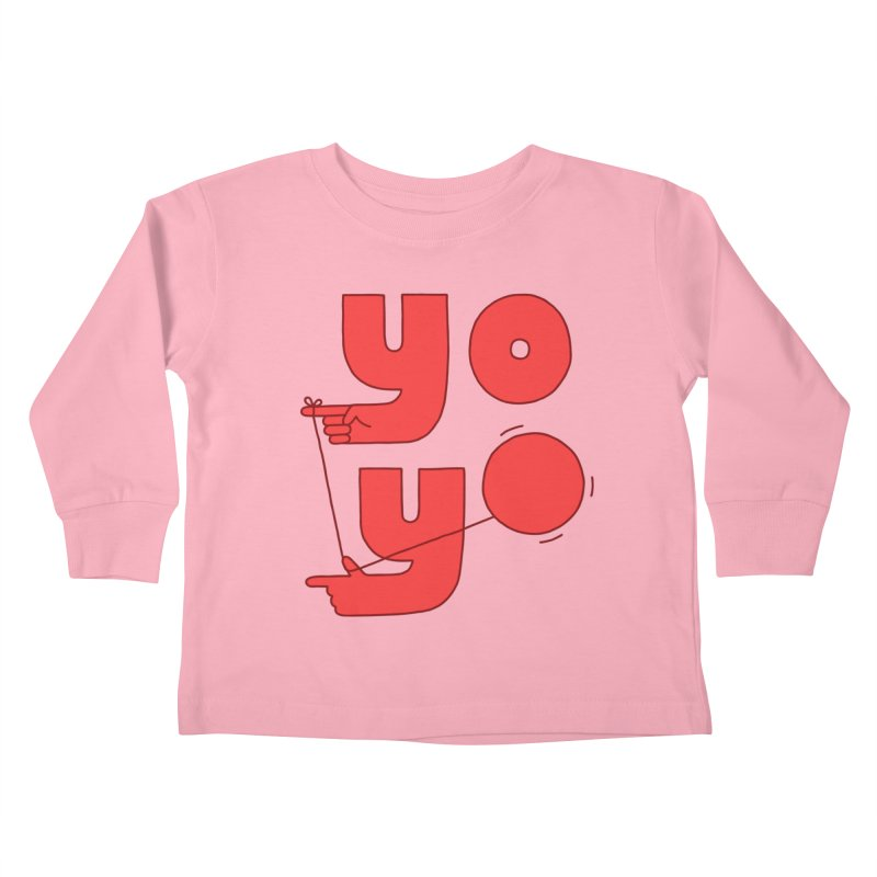 Yo Kids Toddler Longsleeve T-Shirt by Haasbroek's Artist Shop