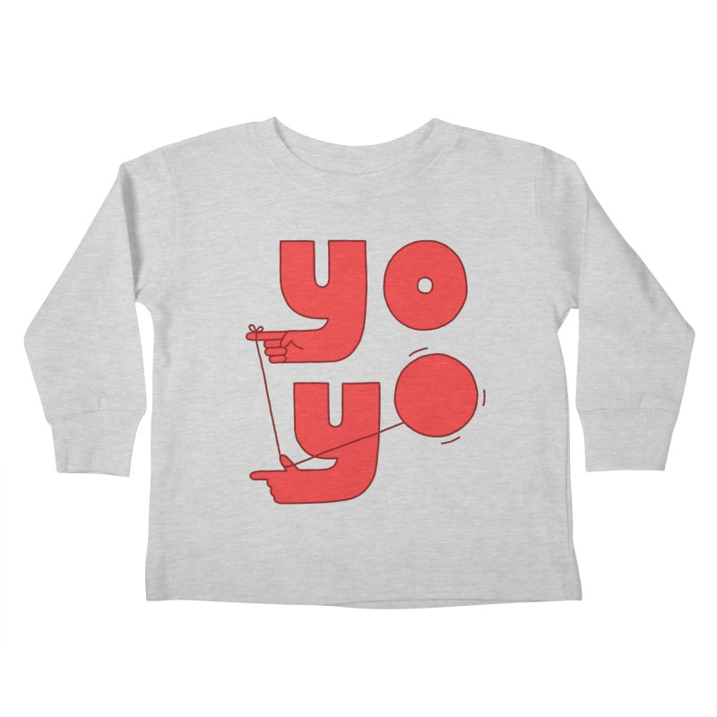 Yo Kids Toddler Longsleeve T-Shirt by jacohaasbroek's Artist Shop