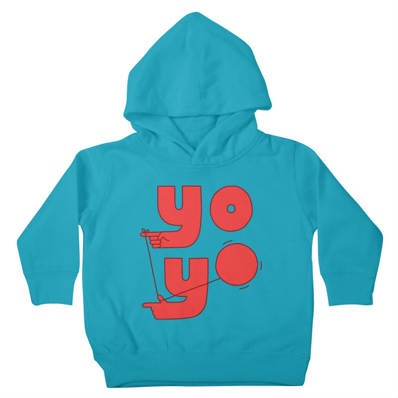 Yo Kids Toddler Pullover Hoody by Haasbroek's Artist Shop