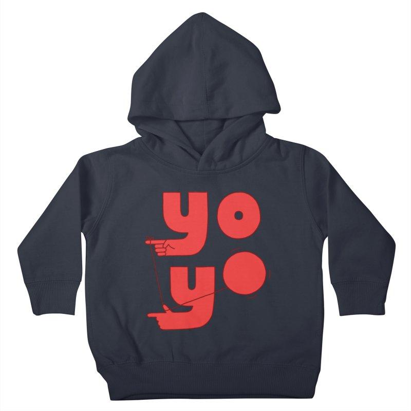 Yo Kids Toddler Pullover Hoody by Haasbroek's Artist Shop