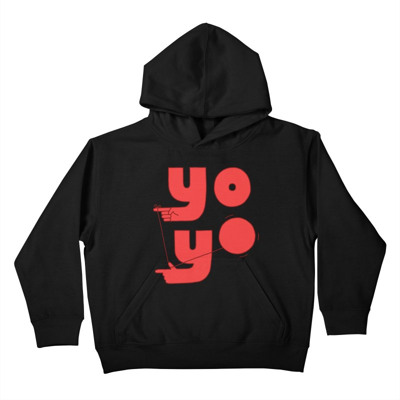 Yo Kids Pullover Hoody by jacohaasbroek's Artist Shop
