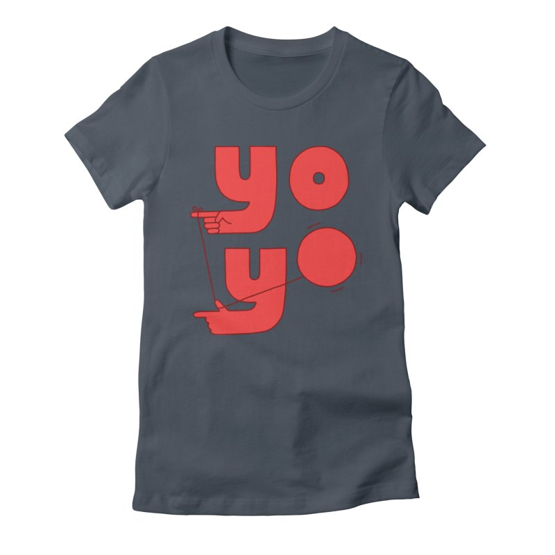 Yo Women's T-Shirt by Haasbroek's Artist Shop