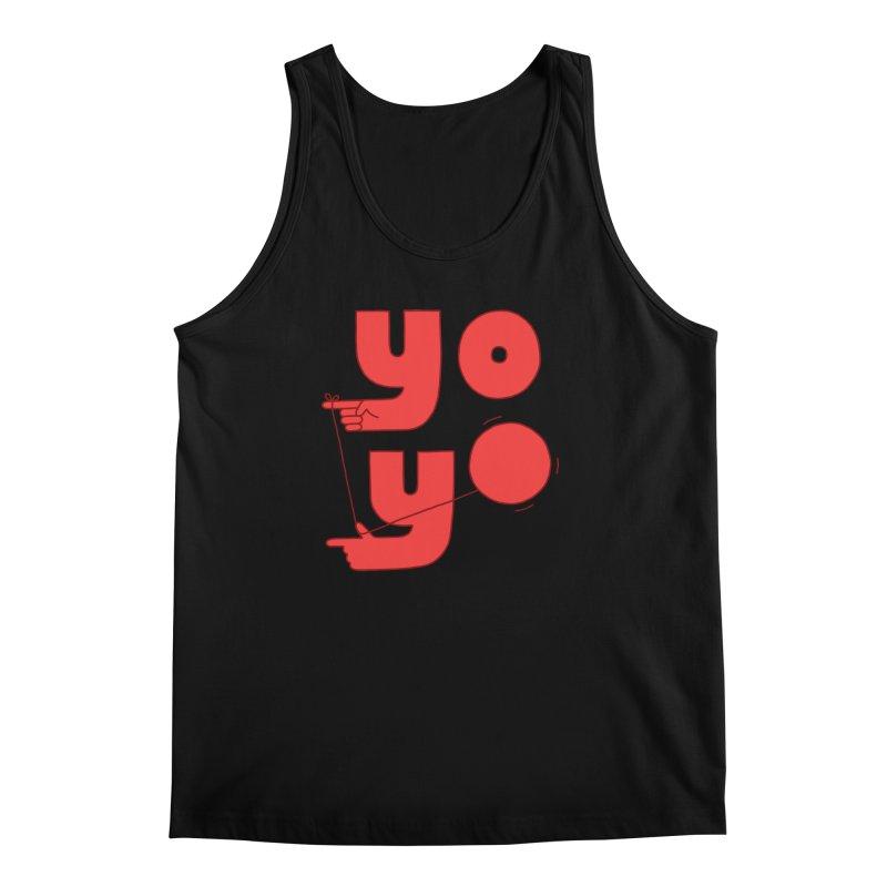 Yo Men's Regular Tank by jacohaasbroek's Artist Shop