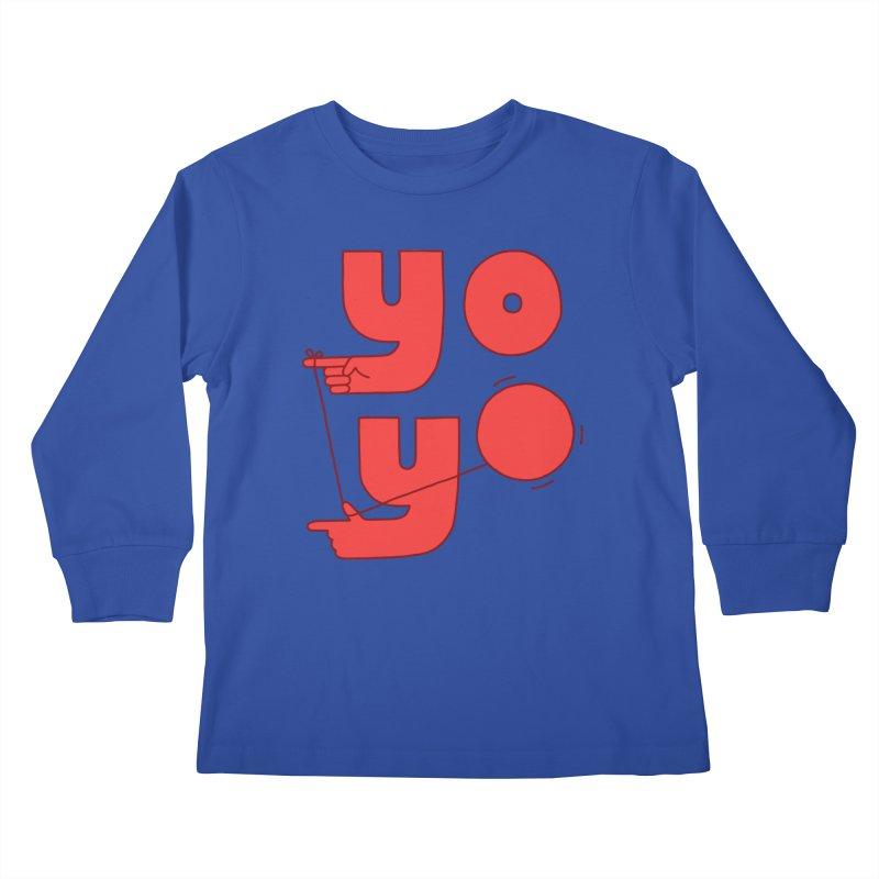 Yo Kids Longsleeve T-Shirt by Haasbroek's Artist Shop