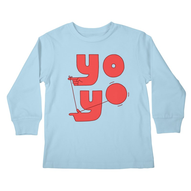 Yo Kids Longsleeve T-Shirt by jacohaasbroek's Artist Shop
