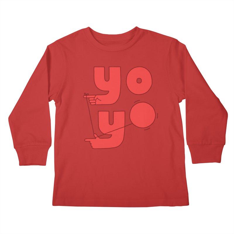Yo Kids Longsleeve T-Shirt by jacohaasbroek's Artist Shop