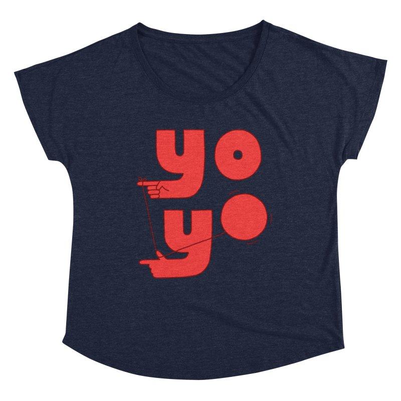 Yo Women's Scoop Neck by Haasbroek's Artist Shop