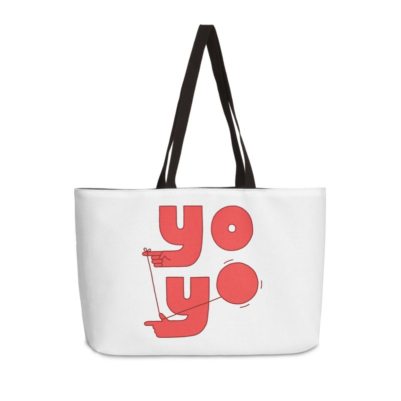 Yo Accessories Weekender Bag Bag by Haasbroek's Artist Shop