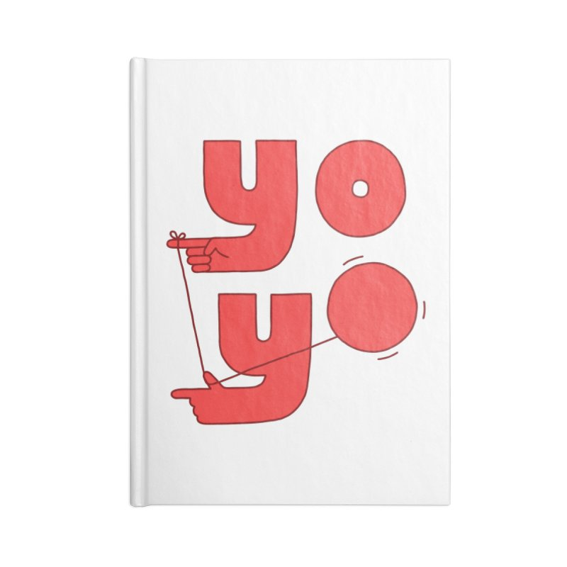 Yo Accessories Blank Journal Notebook by Haasbroek's Artist Shop