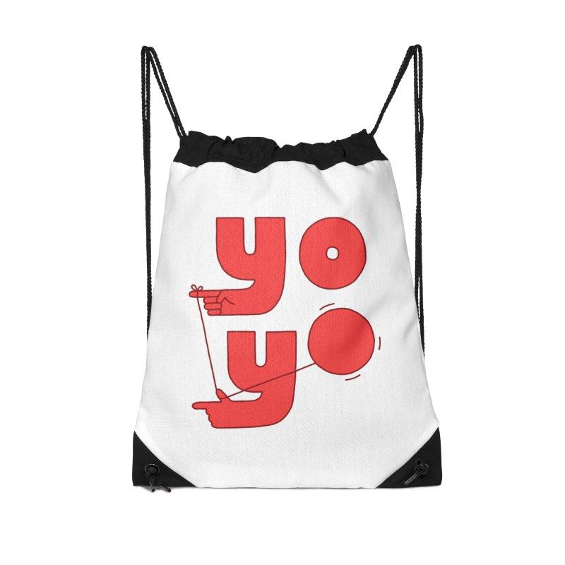 Yo Accessories Drawstring Bag Bag by Haasbroek's Artist Shop