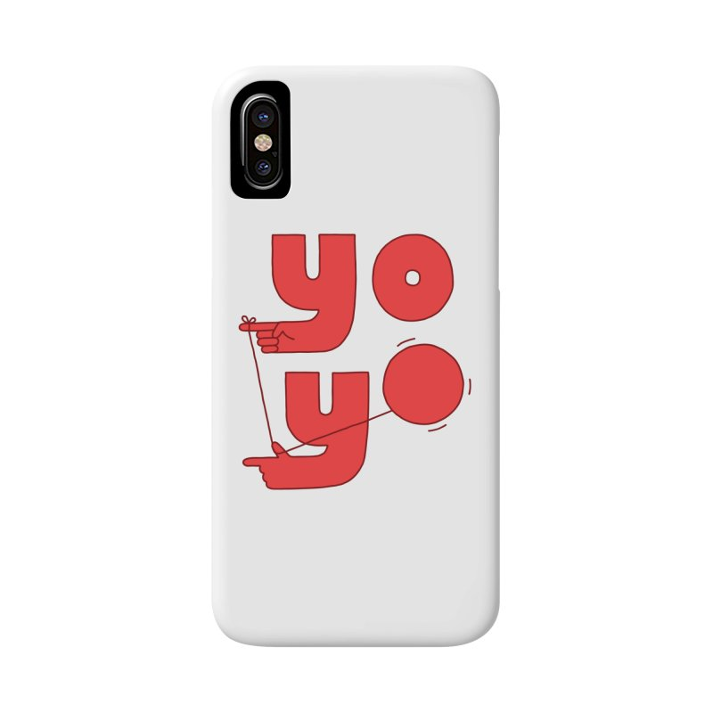Yo Accessories Phone Case by jacohaasbroek's Artist Shop